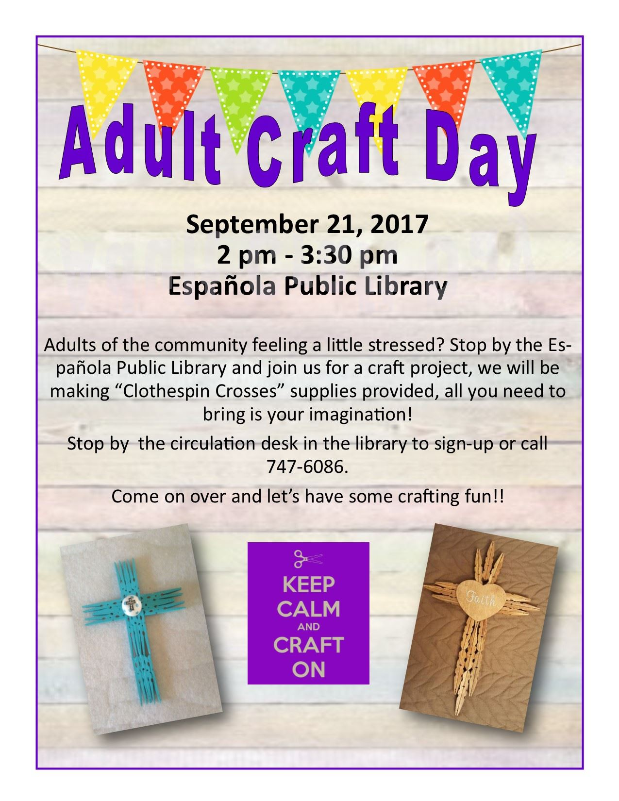Adult Craft Day