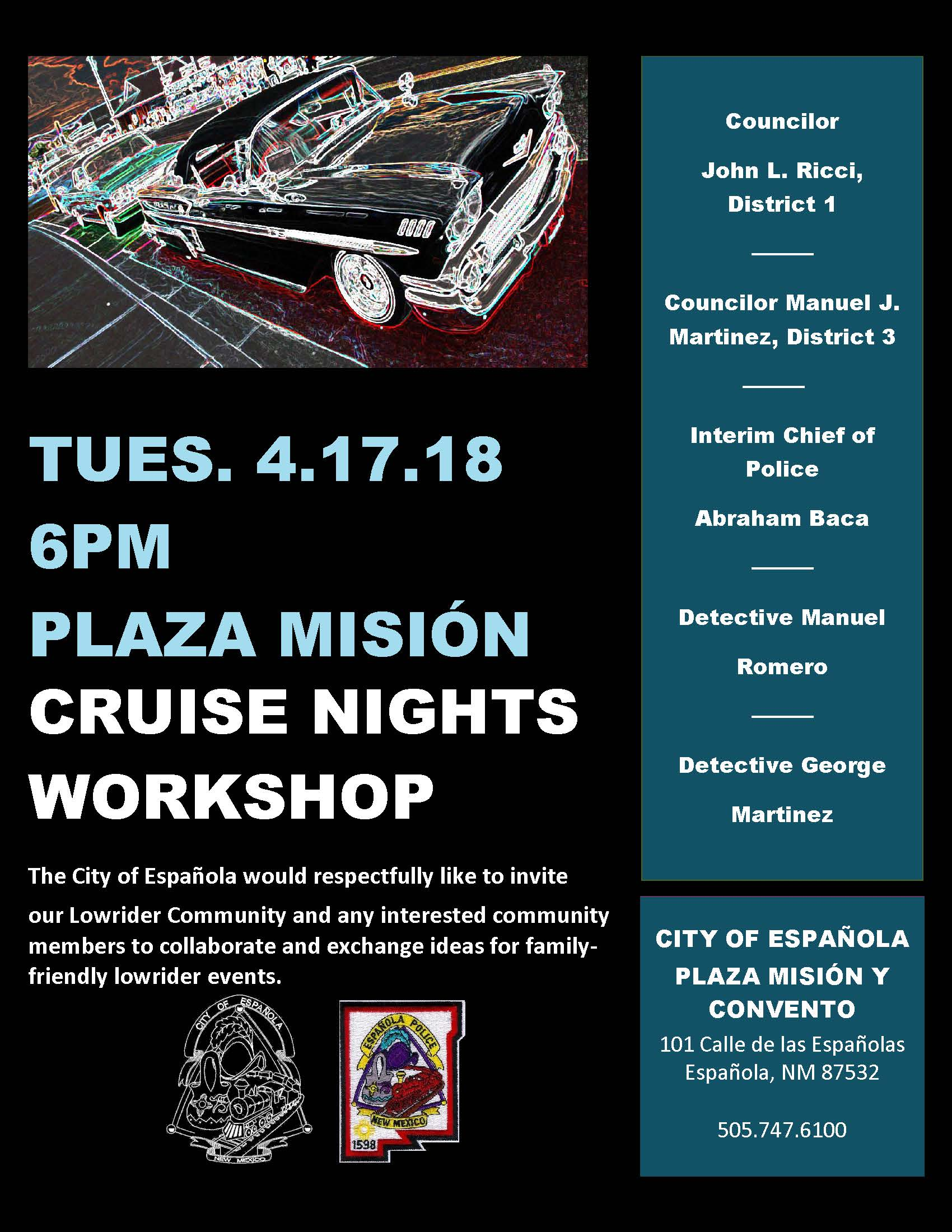 4.17.18 Cruise Nights Workshop