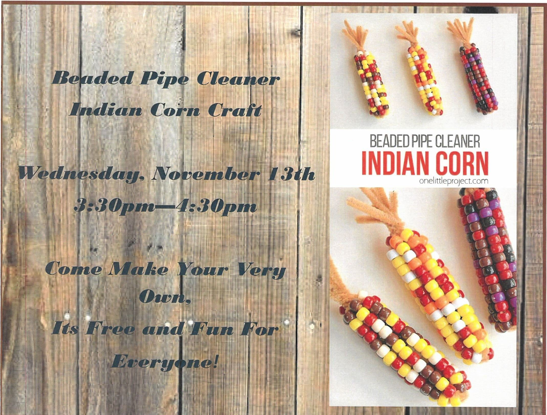 Beaded Indian Corn