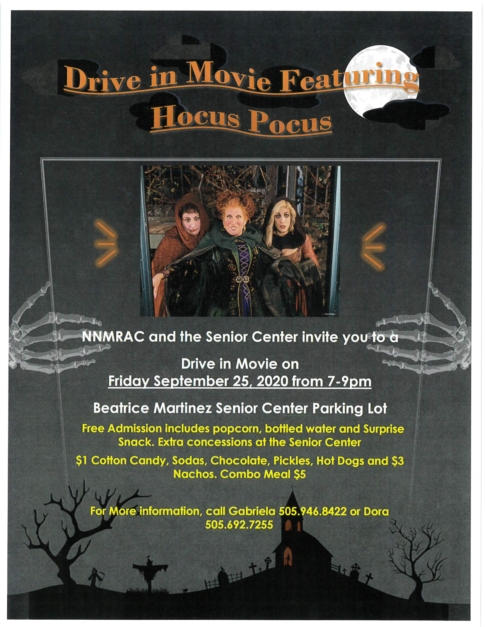 Drive in Movie Hocus Pocus